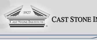 CAST STONE Institute Logo